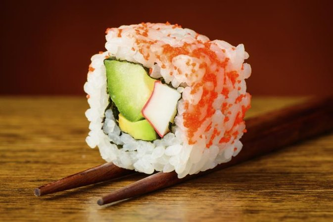 Nutritional Information for the California Roll