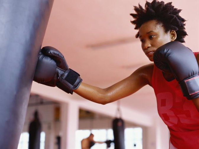 Does Hitting a Punching Bag Help Lose Weight?