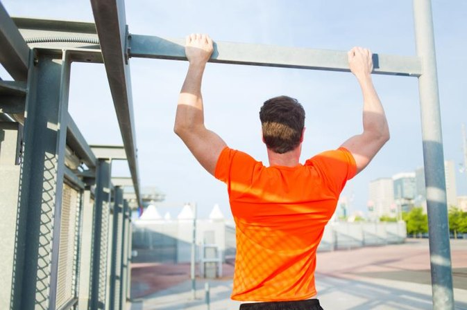 Behind-the-Neck Pull-Ups