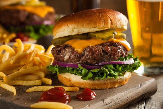 How Many Calories Are in a Bison Burger?