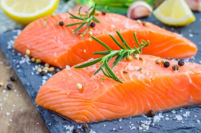 Salmon Oil for Weight Loss