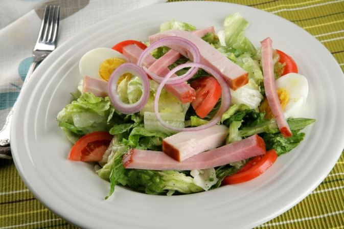 Chef Salad Nutrition Information