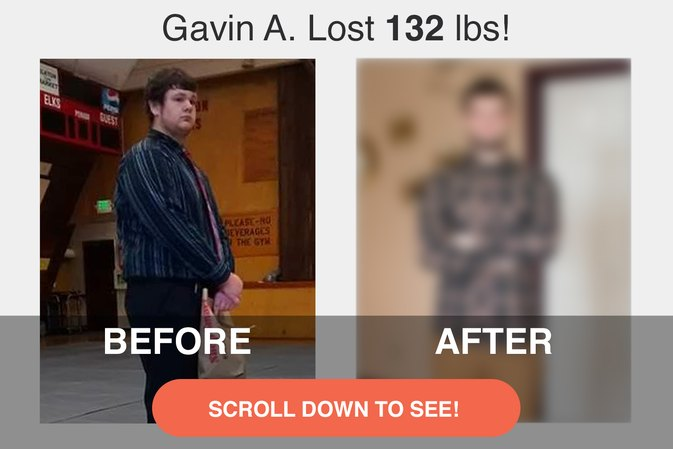 How Gavin A. Lost 132 Pounds By Cutting Out Junk Food