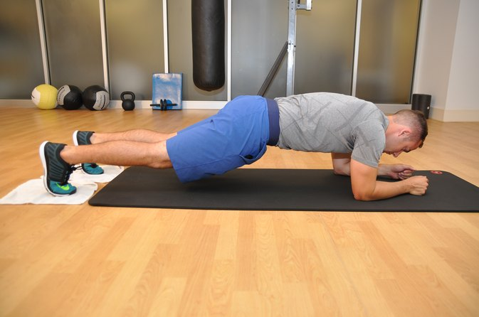 Hand and Foot Sliders for Exercise