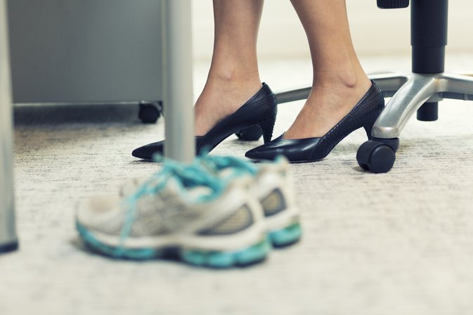 An Easy 10-Minute Workplace Workout