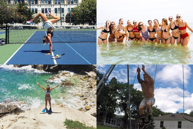 The 15 Best #Fitspo Moments of Summer 2016