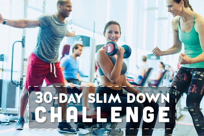 The 30-Day Slim Down Challenge