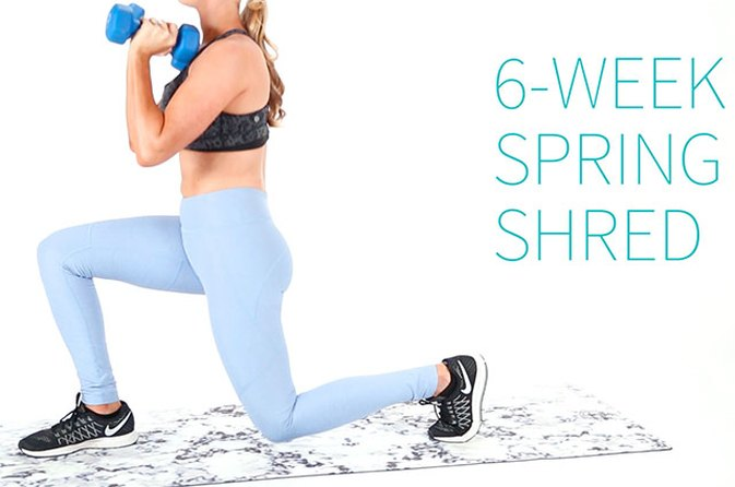 The 6-Week Spring Shred Challenge With Anna Victoria: Week 3