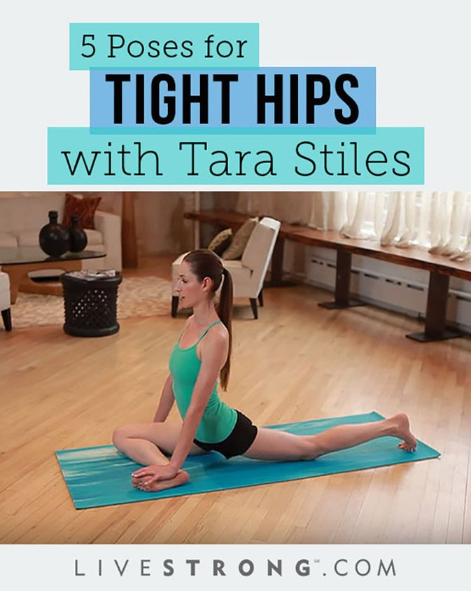 5 Poses for Tight Hips With Tara Stiles