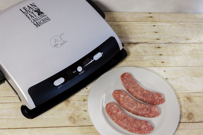How to Cook Brats on a George Foreman Grill