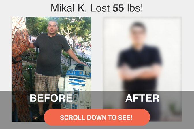 How Mikal K. Lost 55 Pounds and Kept the Weight Off