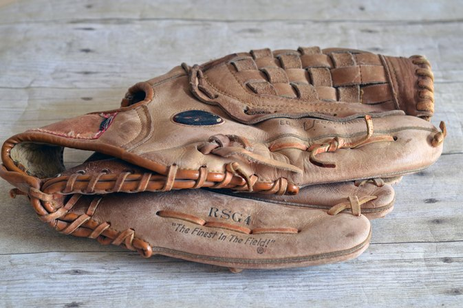 How to Clean a Moldy Leather Baseball Glove
