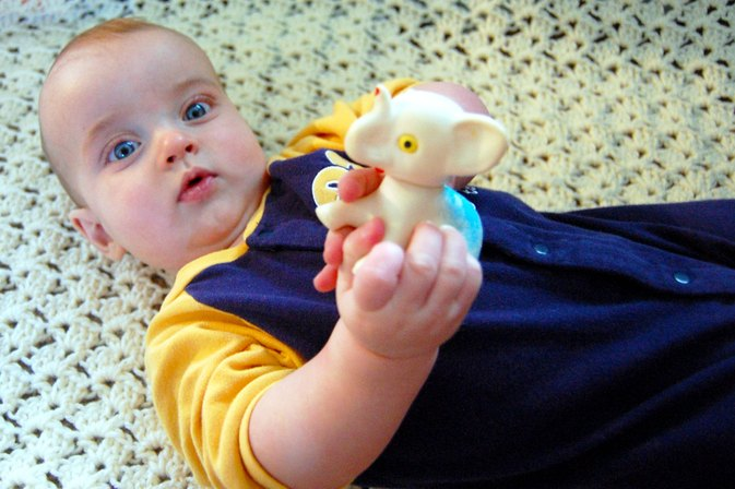 Activities to Encourage the Motor Development of a Baby