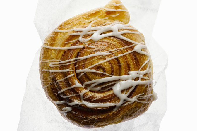 What's Really Inside a Cinnabon Classic Cinnamon Roll?