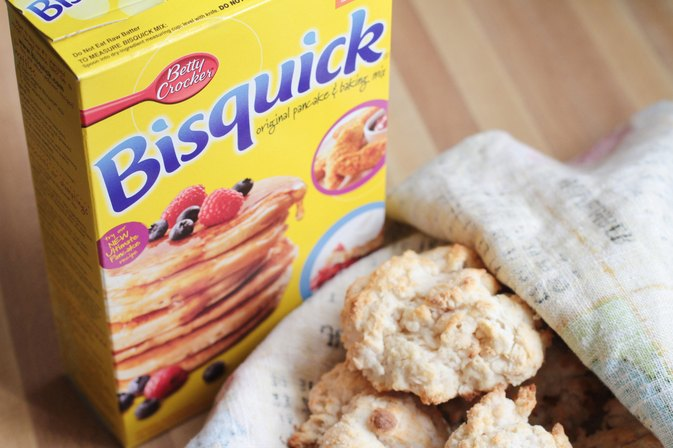 How to Replace Milk With Water in Bisquick