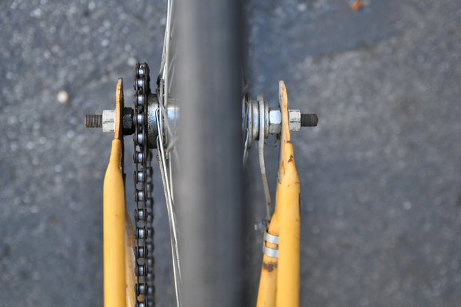 How to Align a Rear Bike Tire