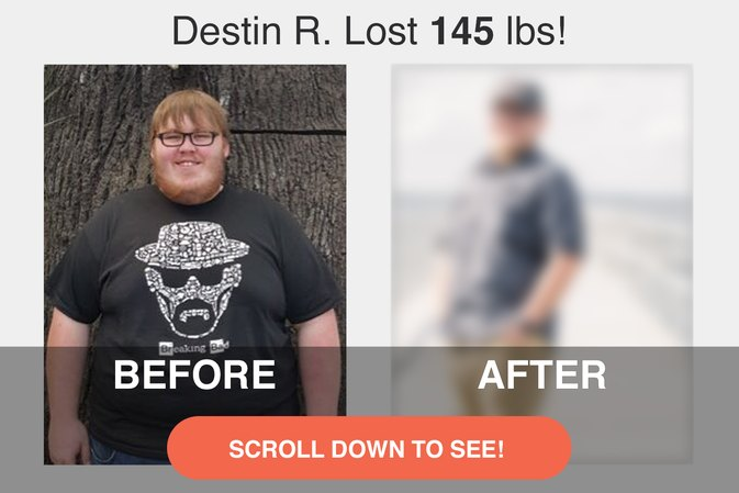 How Destin R. Lost 145 Pounds and 18 Sizes!