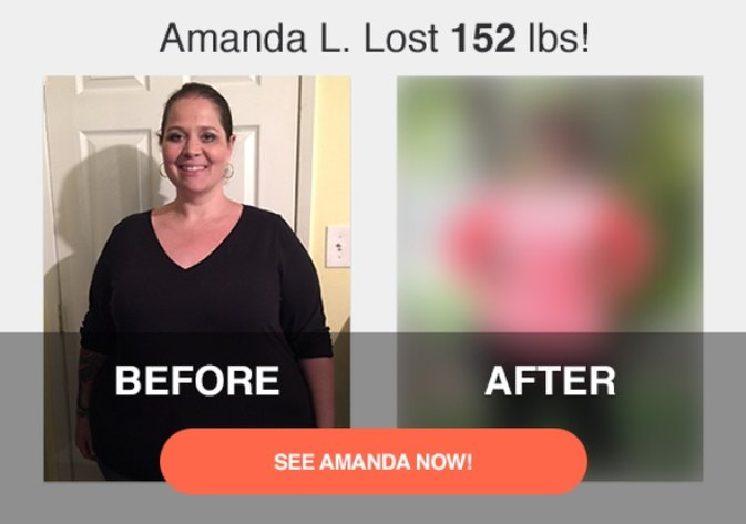 How Amanda L. Lost 152 Pounds After Losing Her Father to Heart Disease