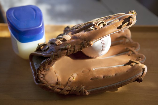 How to Break in a Baseball Glove Using Vaseline