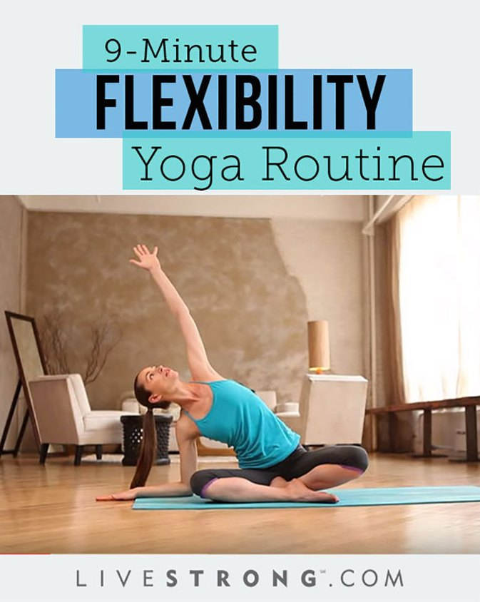 Tara Stiles 9-Minute Flexibility Yoga Routine