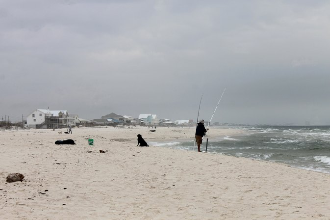 Tips for a surf fishing rig livestrong com for Surf fishing nc