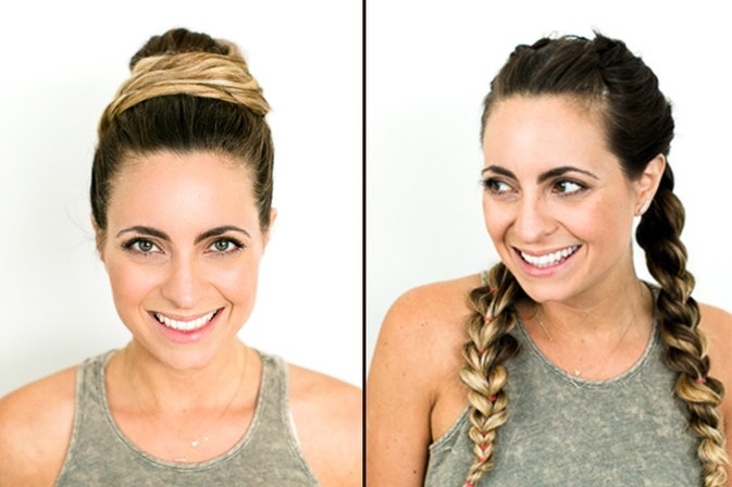 4 Sexy Hairstyles Perfect for Staying Cool