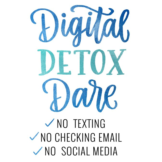 We Challenge You to the Holiday Digital Detox Dare
