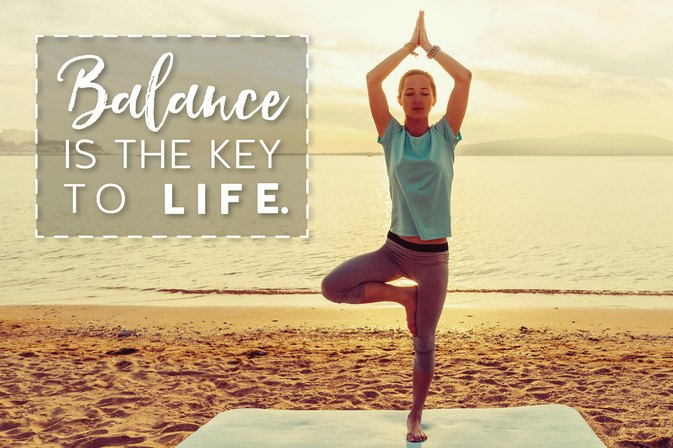 GET LEAN IN 2017 Challenge Day 17: The Balancing Act