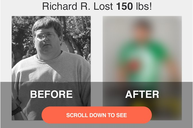 Richard R. Lost 130 Pounds!  LIVESTRONG.COM Success Story