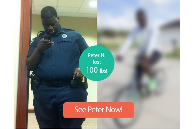 How Peter N. Lost 100 Pounds (And Is Still Losing)