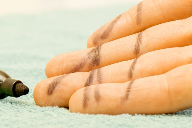 How to Get Permanent Marker Off of Skin