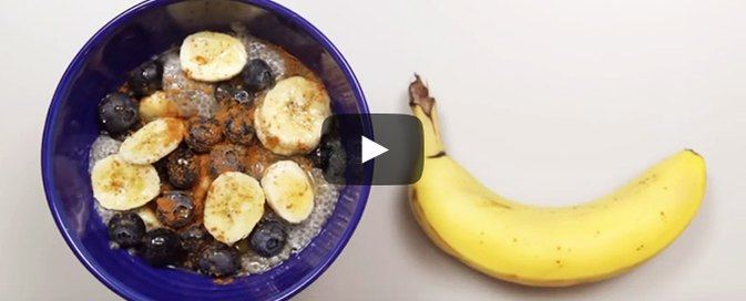 This Blueberry and Banana Chia Breakfast Bowl Will Jump-Start Your Morning