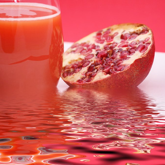 Health Facts About Pomegranate Blueberry Juice
