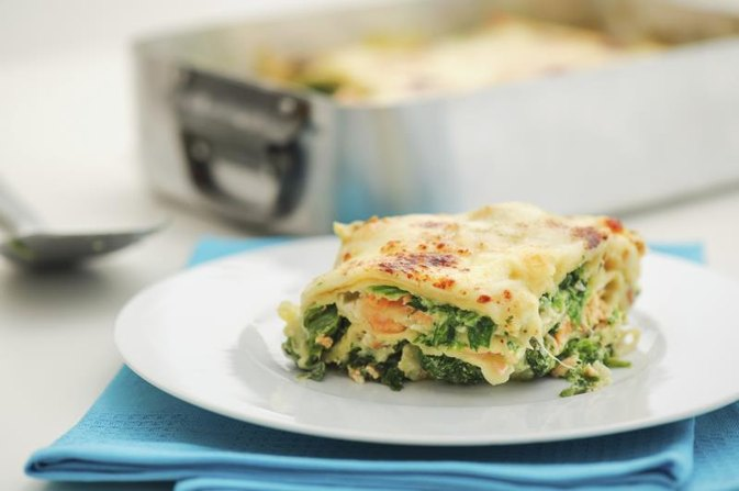 Menus With Vegetable Lasagna
