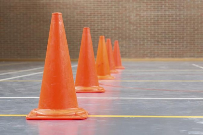Basketball: The Cone-Dribbling Drills