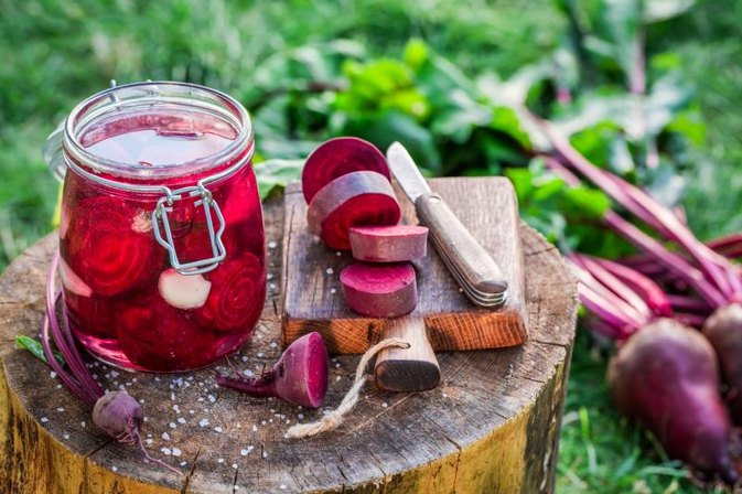 How to Pickle Beetroot in Malt Vinegar