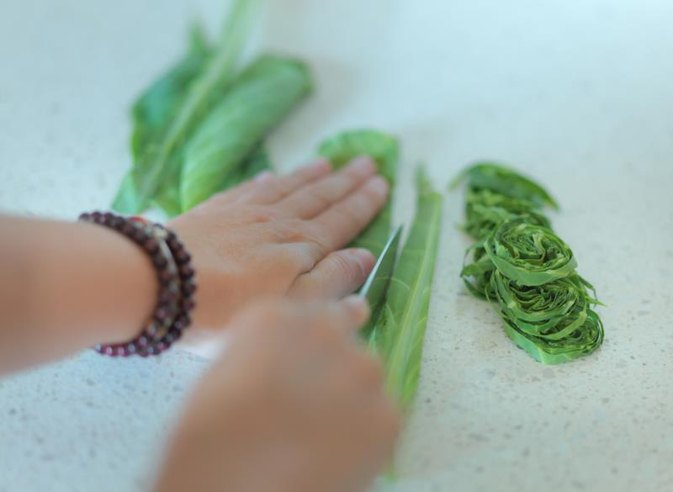 How to Cut Cabbage Very Finely