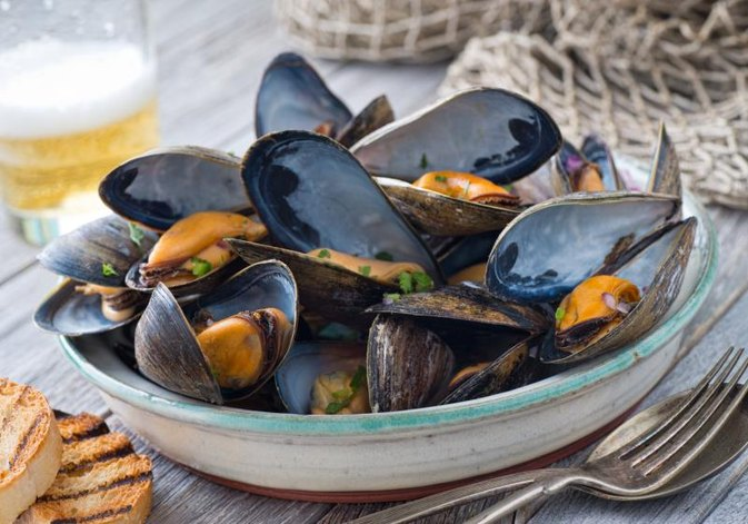 Are Farm Raised Mussels & Clams Healthy to Eat?
