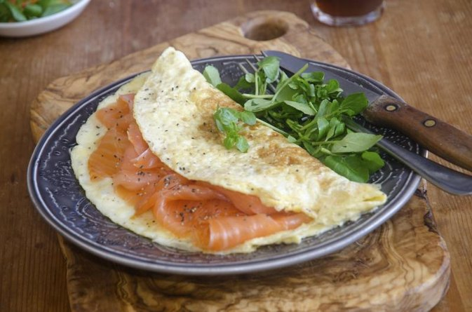 Healthy Egg White Omelets