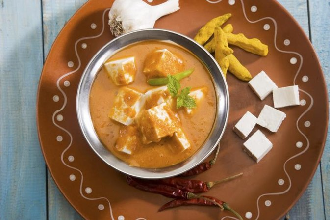 Calories in Paneer Cheese