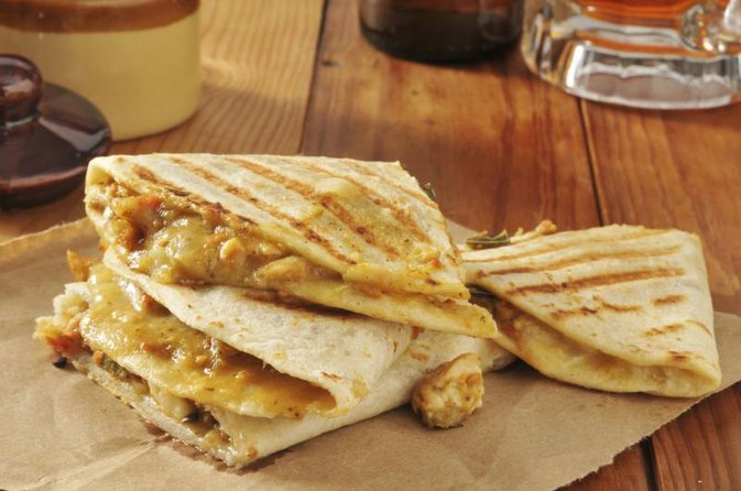 Chicken Quesadilla Nutrition Information