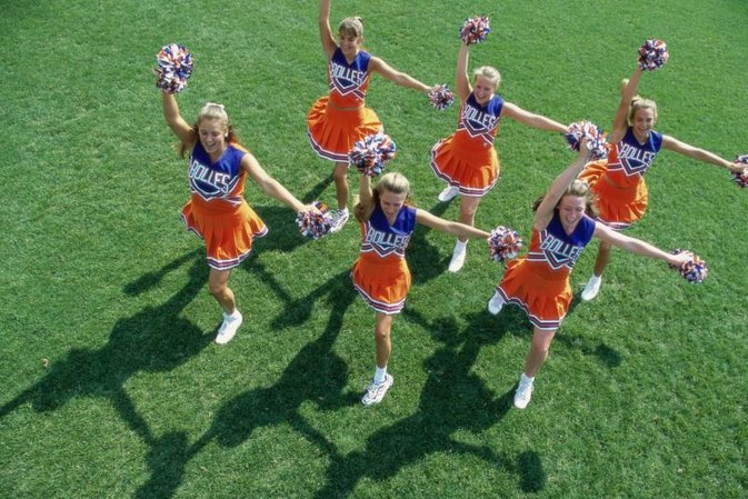 What Muscles Do Cheerleaders Use?
