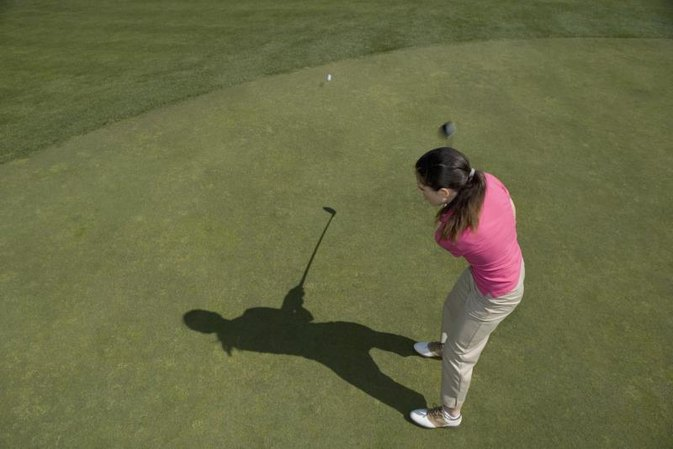 Role of Left Shoulder in the Golf Swing