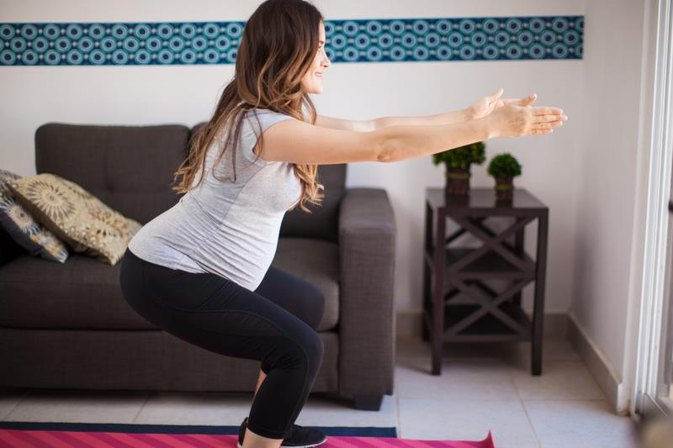 Safe Exercises for a Woman 35 Weeks Pregnant