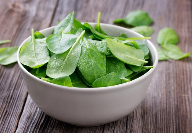 Raw Spinach and Digestion