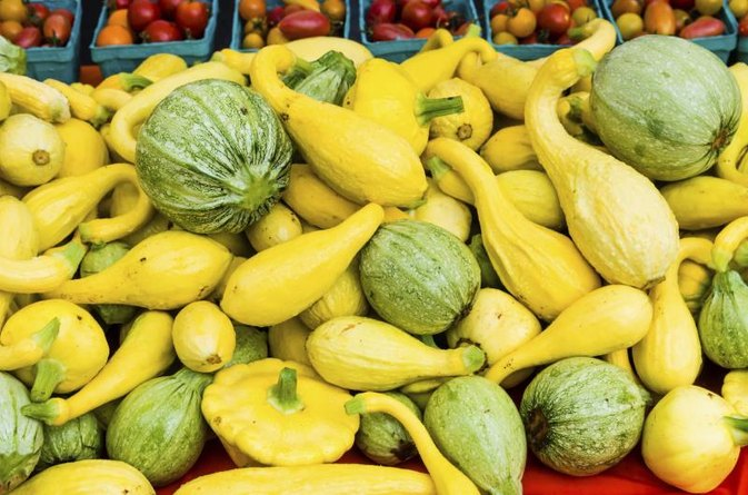 Baked Yellow Squash With Butter & Brown Sugar