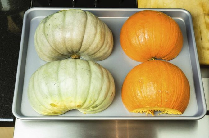 how to cook hubbard squash in microwave