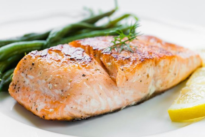how to cook thawed salmon
