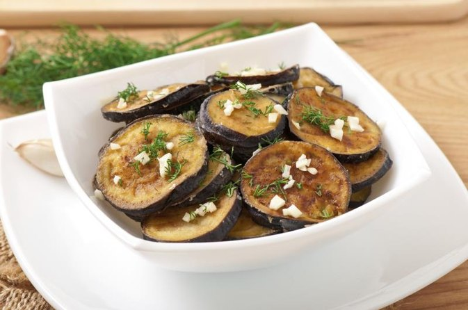 Calories in Baked Eggplant