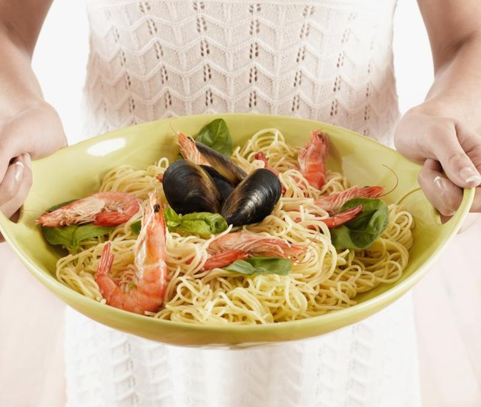 Spaghetti With Olive Oil & Red Wine Vinegar